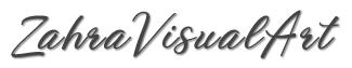 ZahraVisualArt | Fine Art Logo